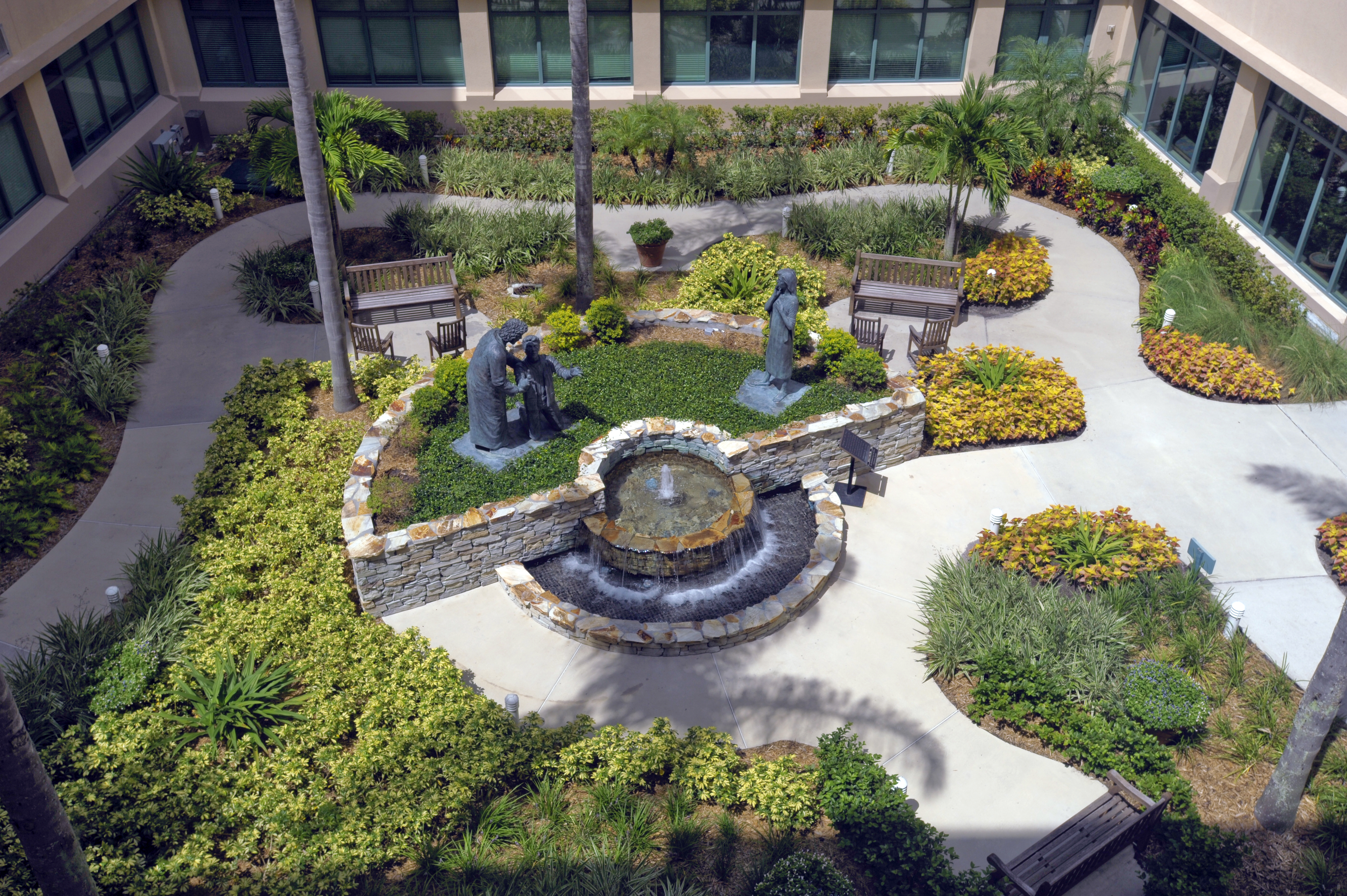 Healing Garden at Celebration Health
