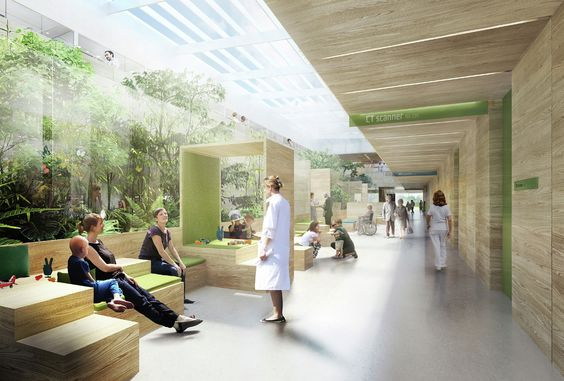 integrative spaces a calming ER