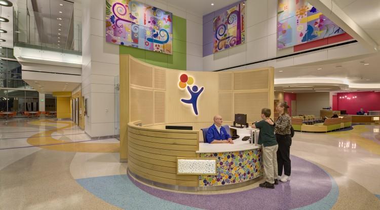 integrative spaces reception lobby