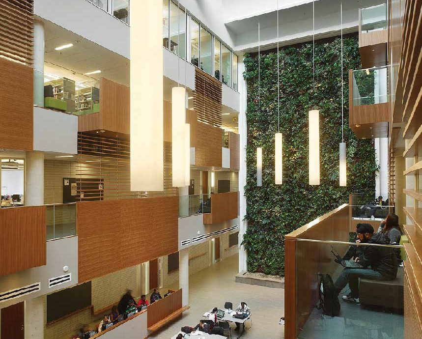 """The Centennial College Library and Academic Facility in Toronto"""